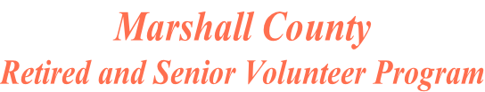 Marshall County Retired and Senior Volunteer Program